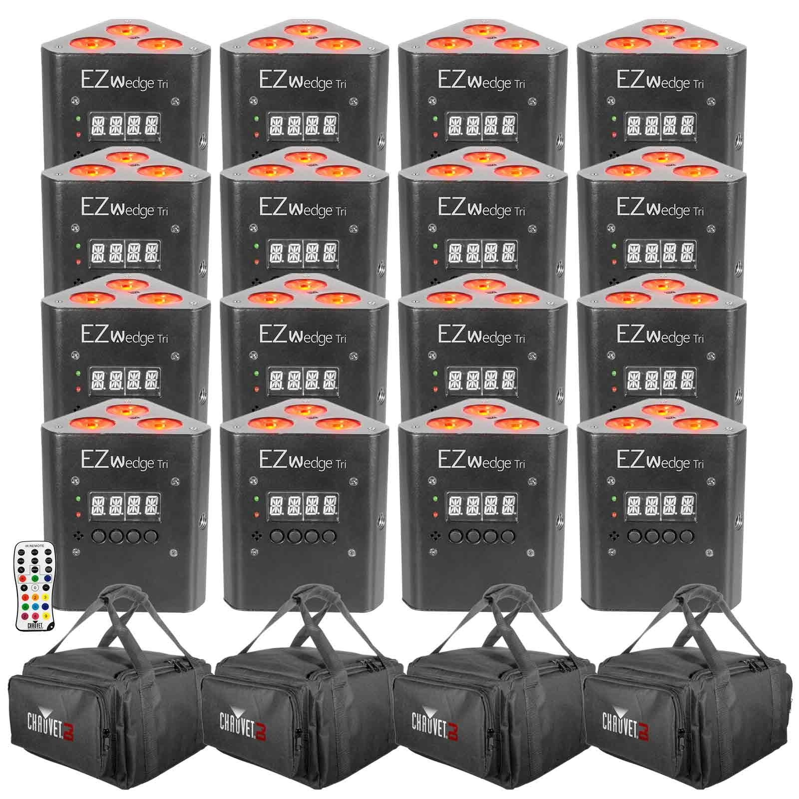Chauvet dj ezwedge tri 16 pack for Lighting packages for new homes