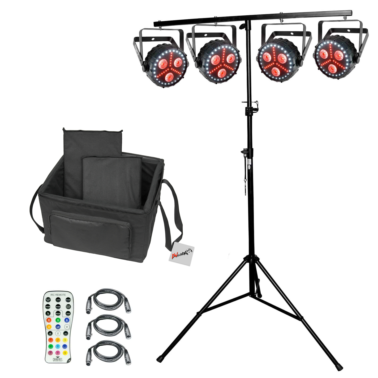Chauvet dj fxpar 3 package 3 for Lighting packages for new homes