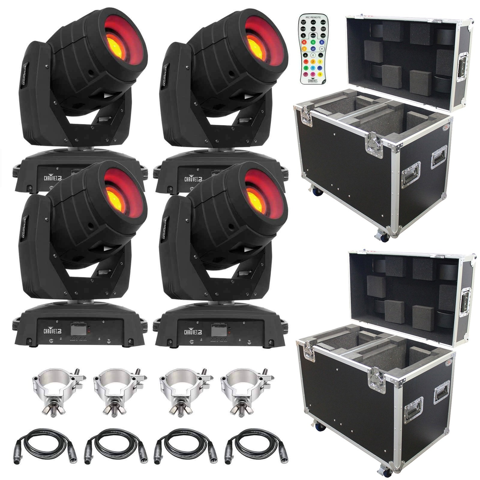 Chauvet dj intimidator spot 355 irc package 2 for Lighting packages for new homes