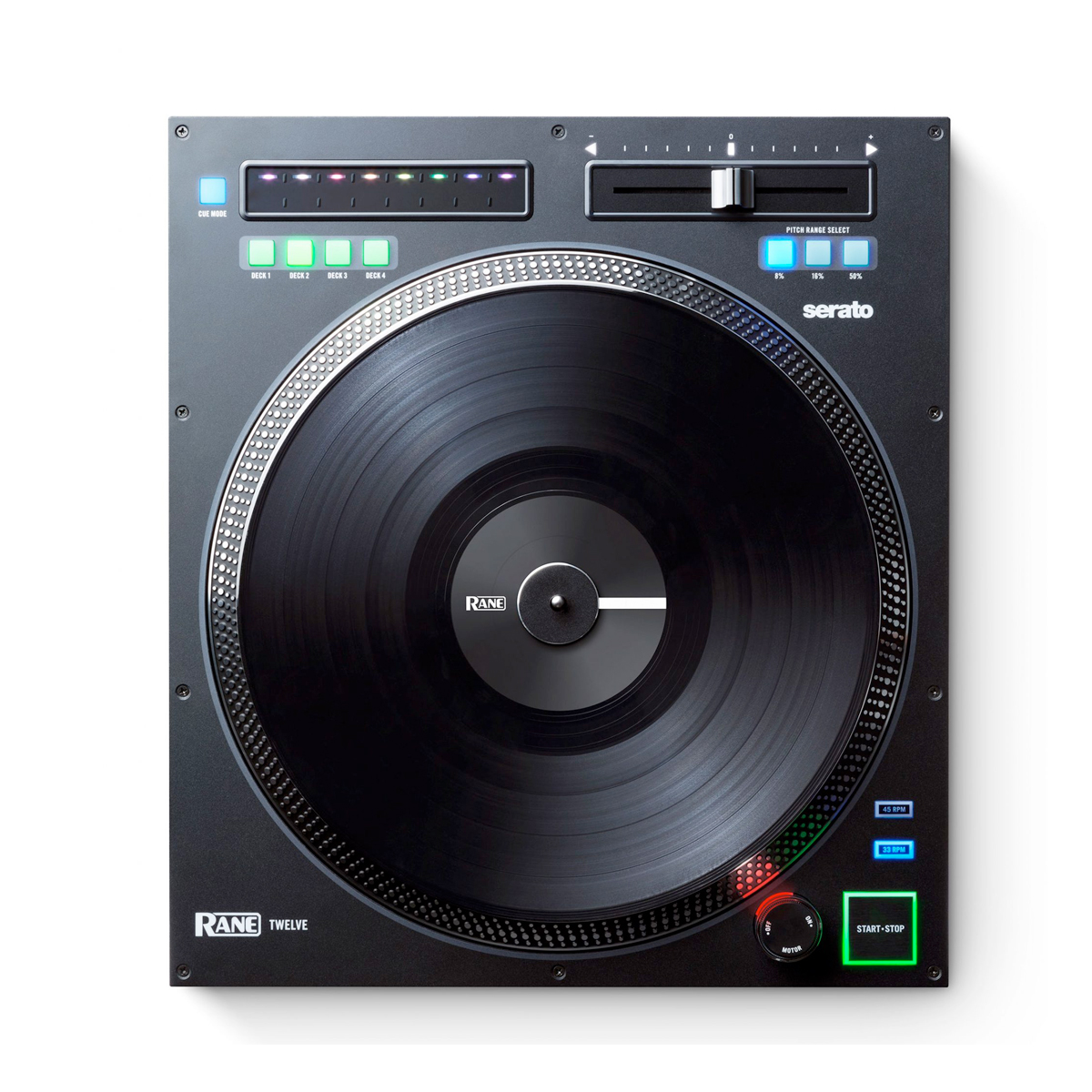 Rane twelve turntable controller with motorized platter for Dj controller motorized platters