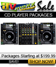 DJ CD PLAYER PACKAGES