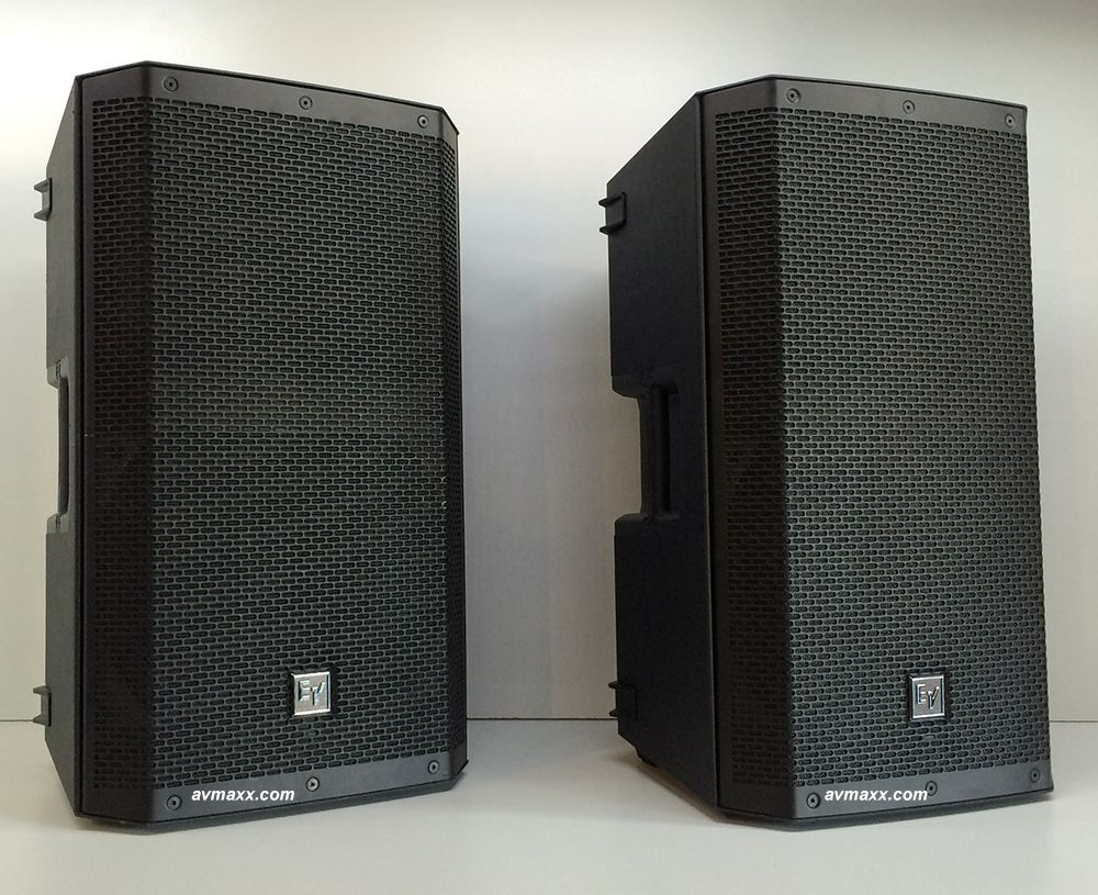 ev zlx 12p used powered speakers under full warranty. Black Bedroom Furniture Sets. Home Design Ideas