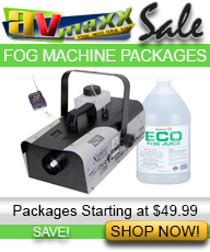 DJ FOG MACHINES