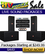 DJ SPEAKER PACKAGES