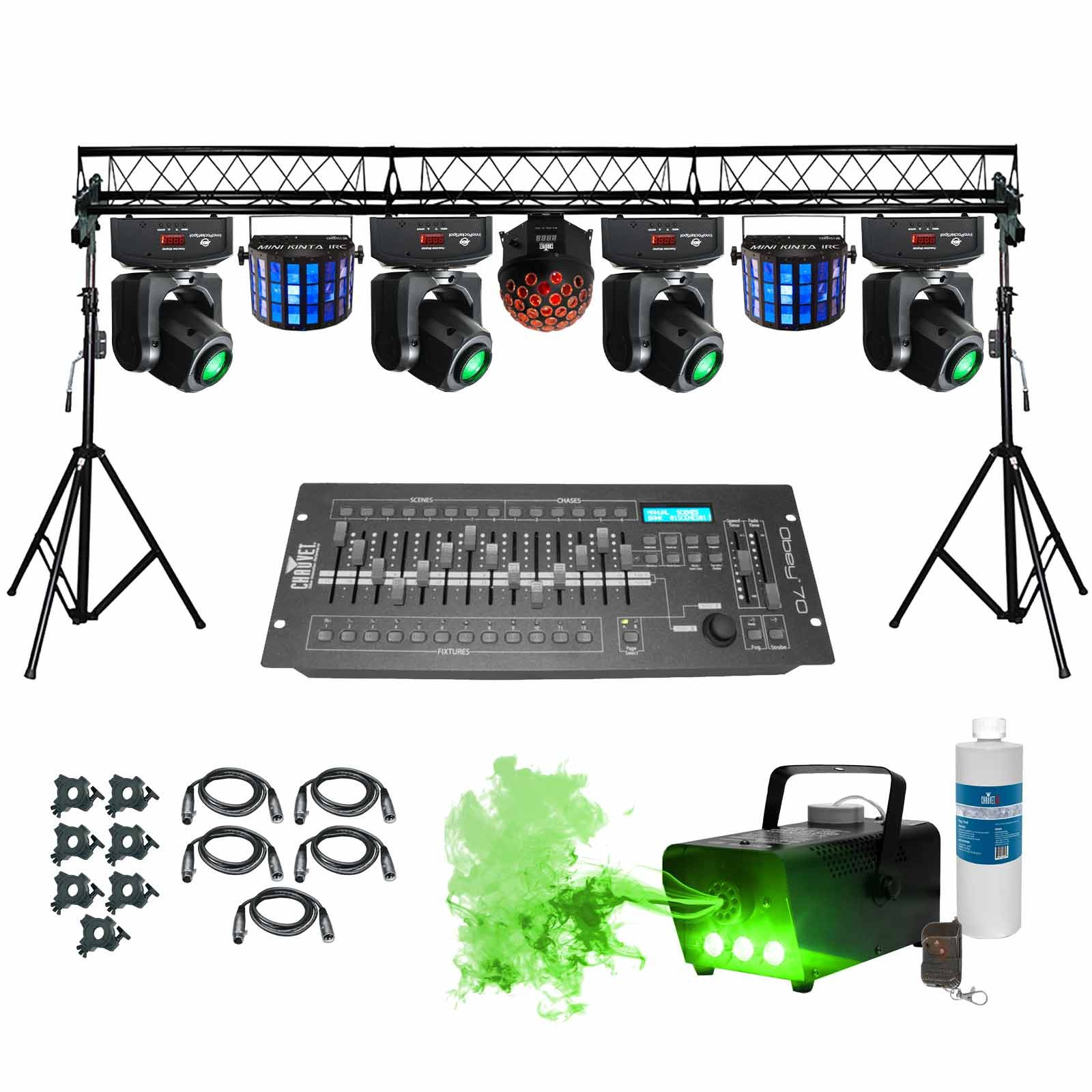 Complete portable multi size lighting truss system for Truss package cost