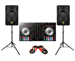 Pioneer DJ DDJ-SX2 Package Deal
