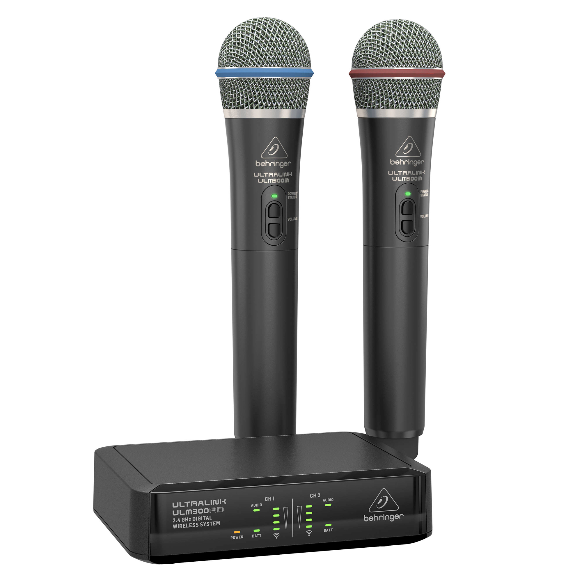 behringer ulm302mic dual digital wireless microphone system. Black Bedroom Furniture Sets. Home Design Ideas