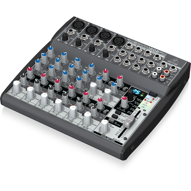 behringer xenyx 1202 fx 8 ch mixer with effects. Black Bedroom Furniture Sets. Home Design Ideas