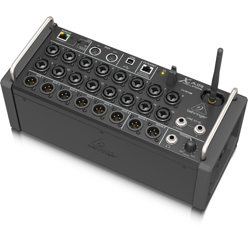 behringer xr18 used tablet controlled digital mixer. Black Bedroom Furniture Sets. Home Design Ideas