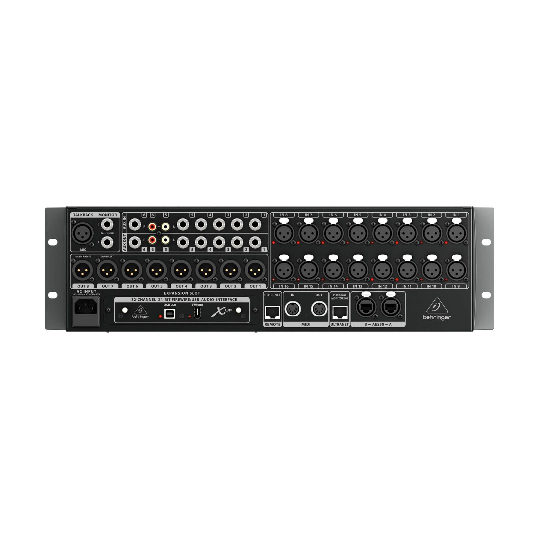 behringer x32 rack rack mount digital mixer. Black Bedroom Furniture Sets. Home Design Ideas