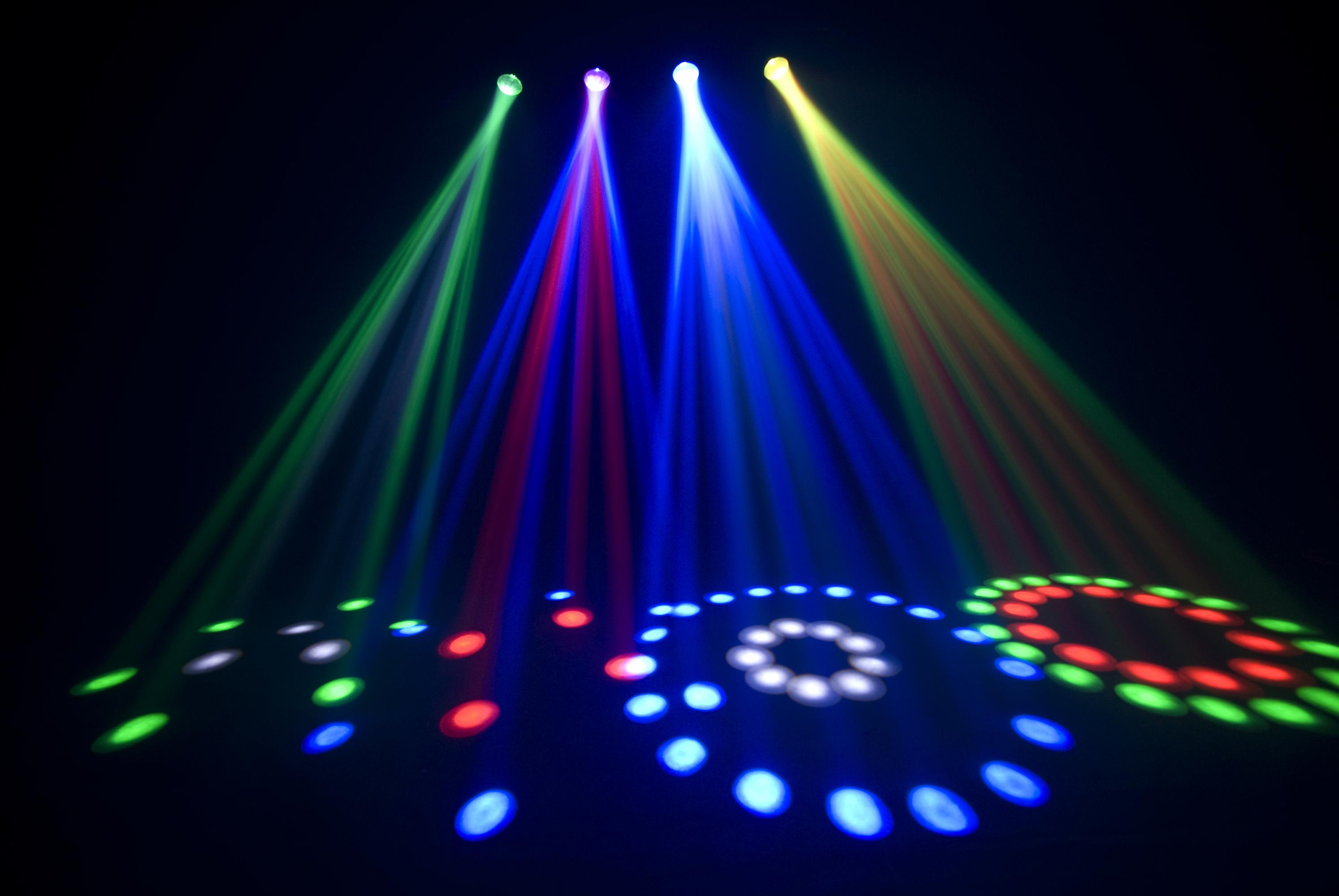 chauvet dj 4play fxpar 9 pack best dj led effect lights package. Black Bedroom Furniture Sets. Home Design Ideas