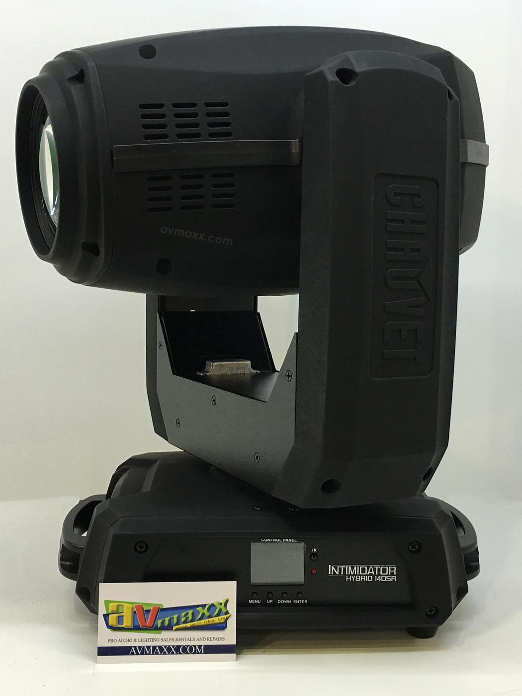 Chauvet dj intimidator hybrid 140sr used