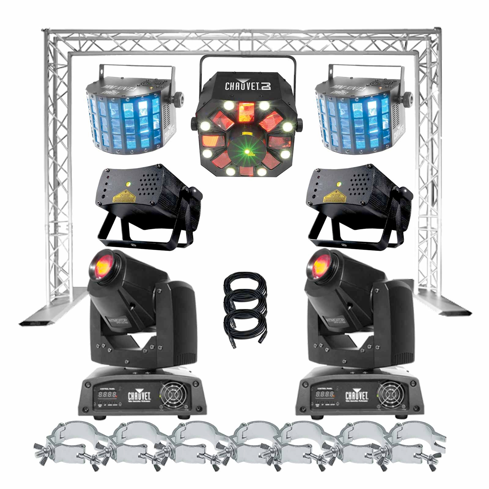 chauvet dj show maker 155 package 2 best selling dj lights package. Black Bedroom Furniture Sets. Home Design Ideas