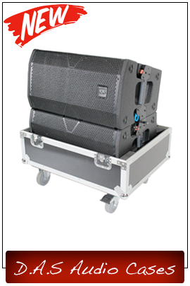 D.A.S Audio Speaker Cases