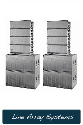 DJ Line Array Systems Chicago