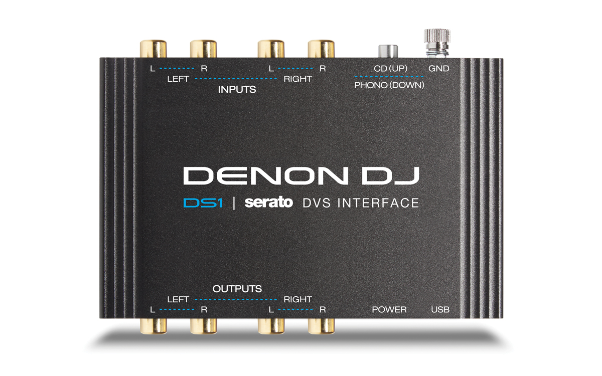 Denon Dj Ds1 4 Channel Usb Audio Interface For Serato Dj