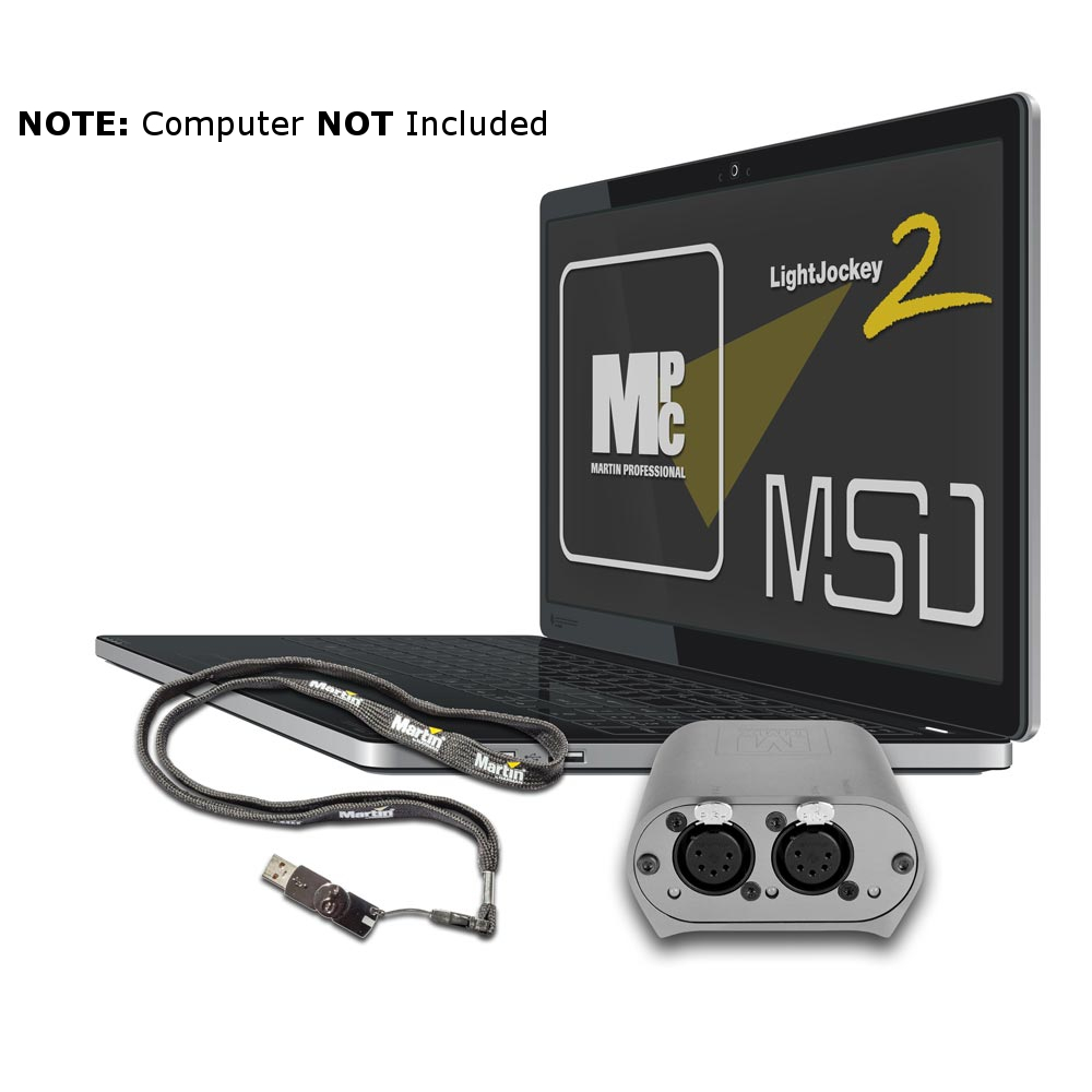 Elation M Pc Usb Dmx Interface Lighting Control