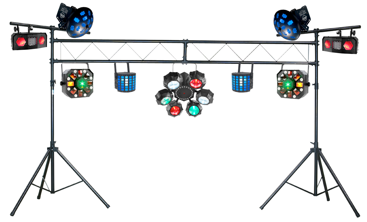 dj show lighting packages avmaxx. Black Bedroom Furniture Sets. Home Design Ideas