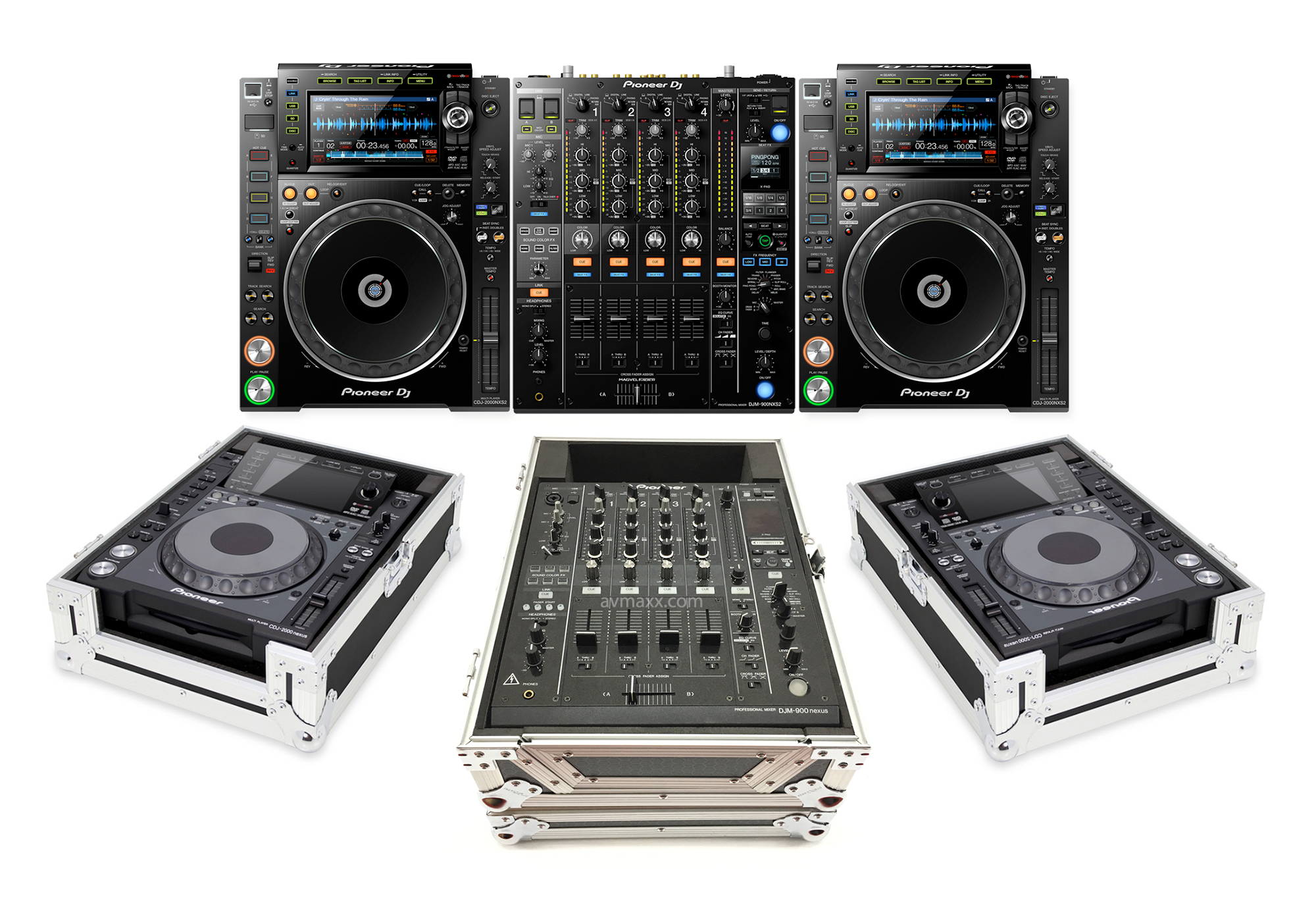 Pioneer Dj Cdj 2000nxs2 Multi Players Amp Djm 900nxs2 4