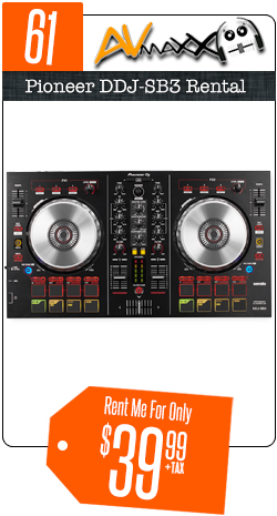DJ Equipment Rentals | Pro Audio & DJ Lights | Chicago