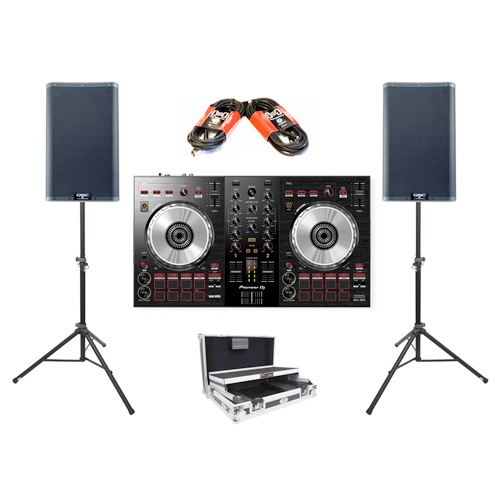 Pioneer DJ DDJ-SB3 and QSC K12 2 Package Deal | Lowest Price Online