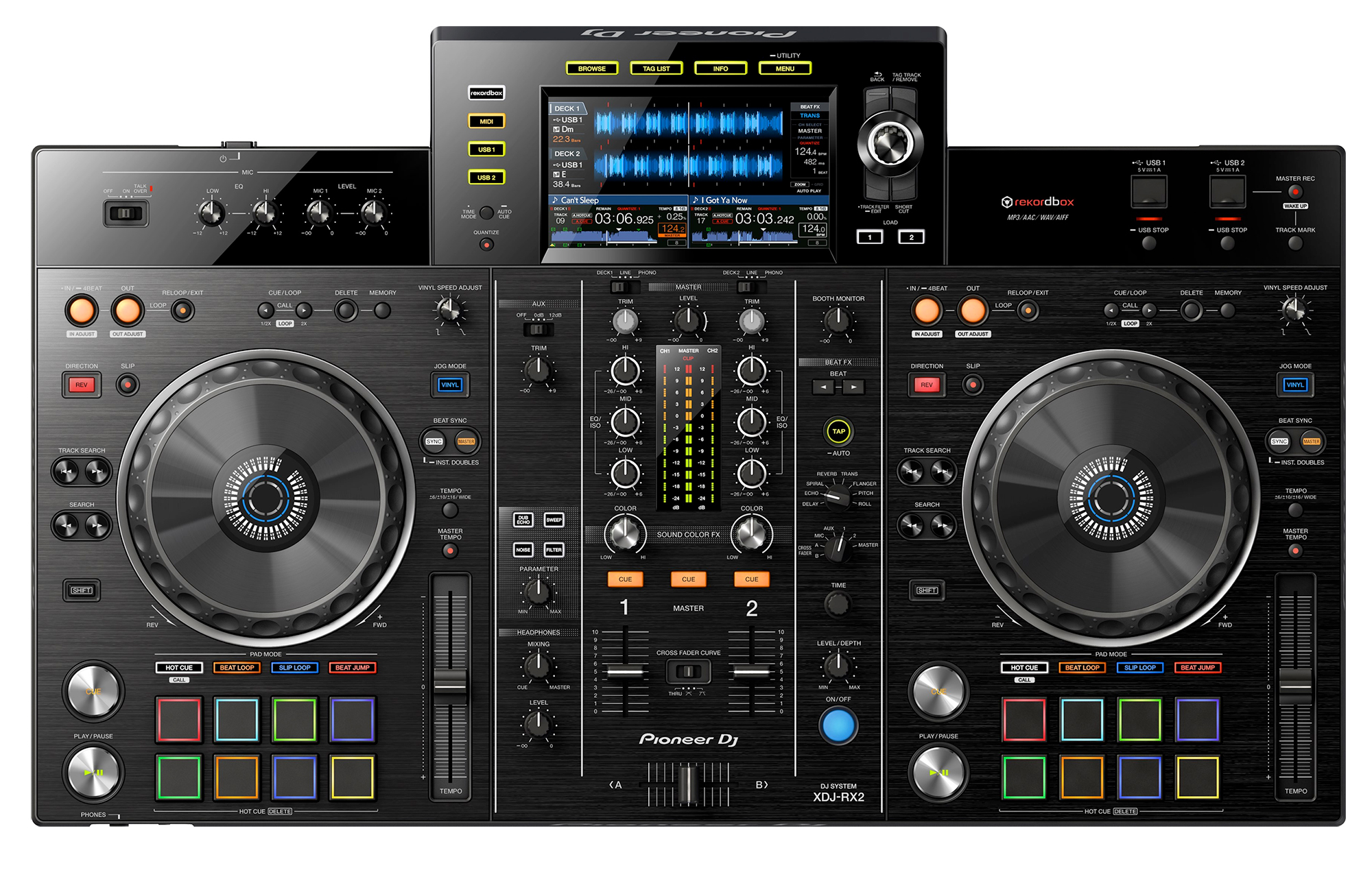 Pioneer Dj Xdj Rx2 All In One Rekordbox Dj System