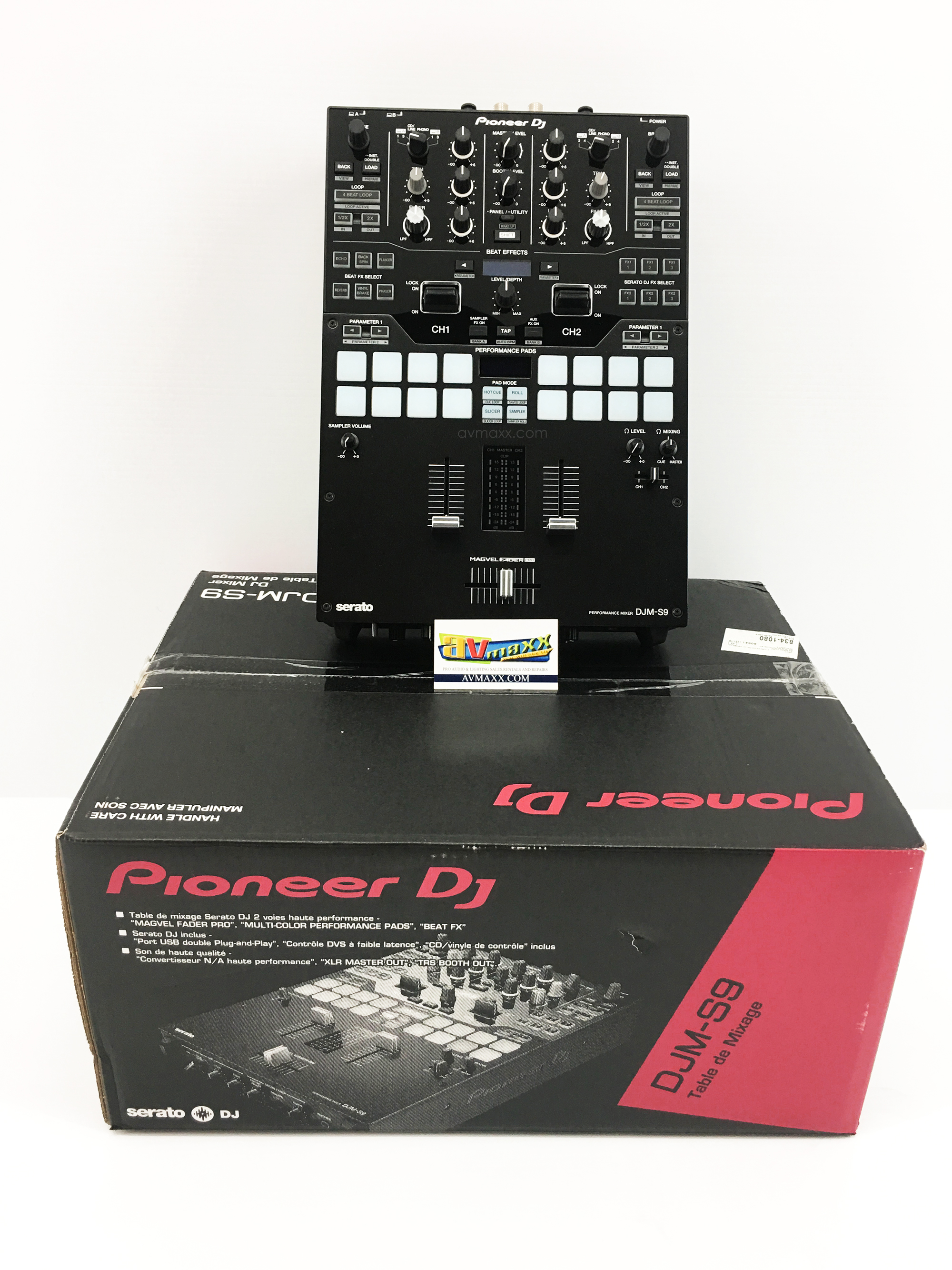 pioneer djm s9 used used dj mixers used pioneer gear. Black Bedroom Furniture Sets. Home Design Ideas