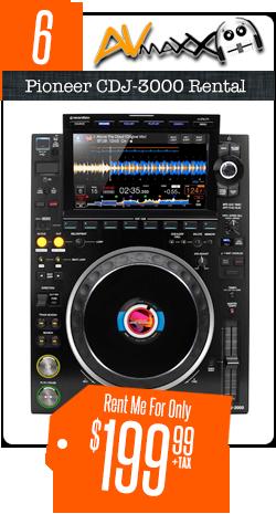 Pioneer CDJ-3000 Solo Rental