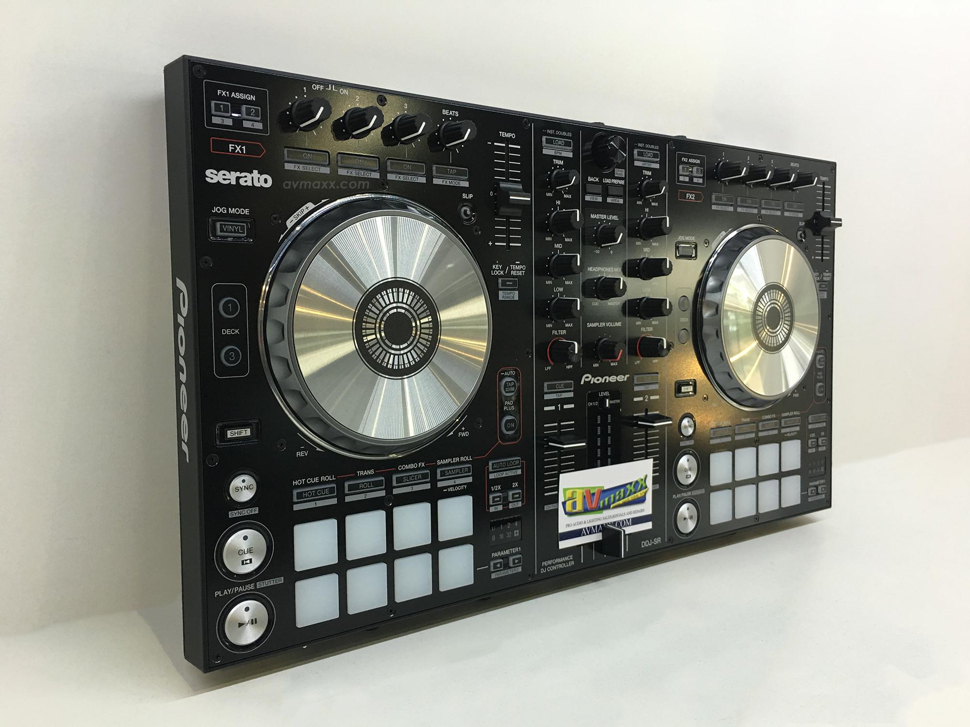 pioneer dj ddj sr used dj controller excellent condition. Black Bedroom Furniture Sets. Home Design Ideas
