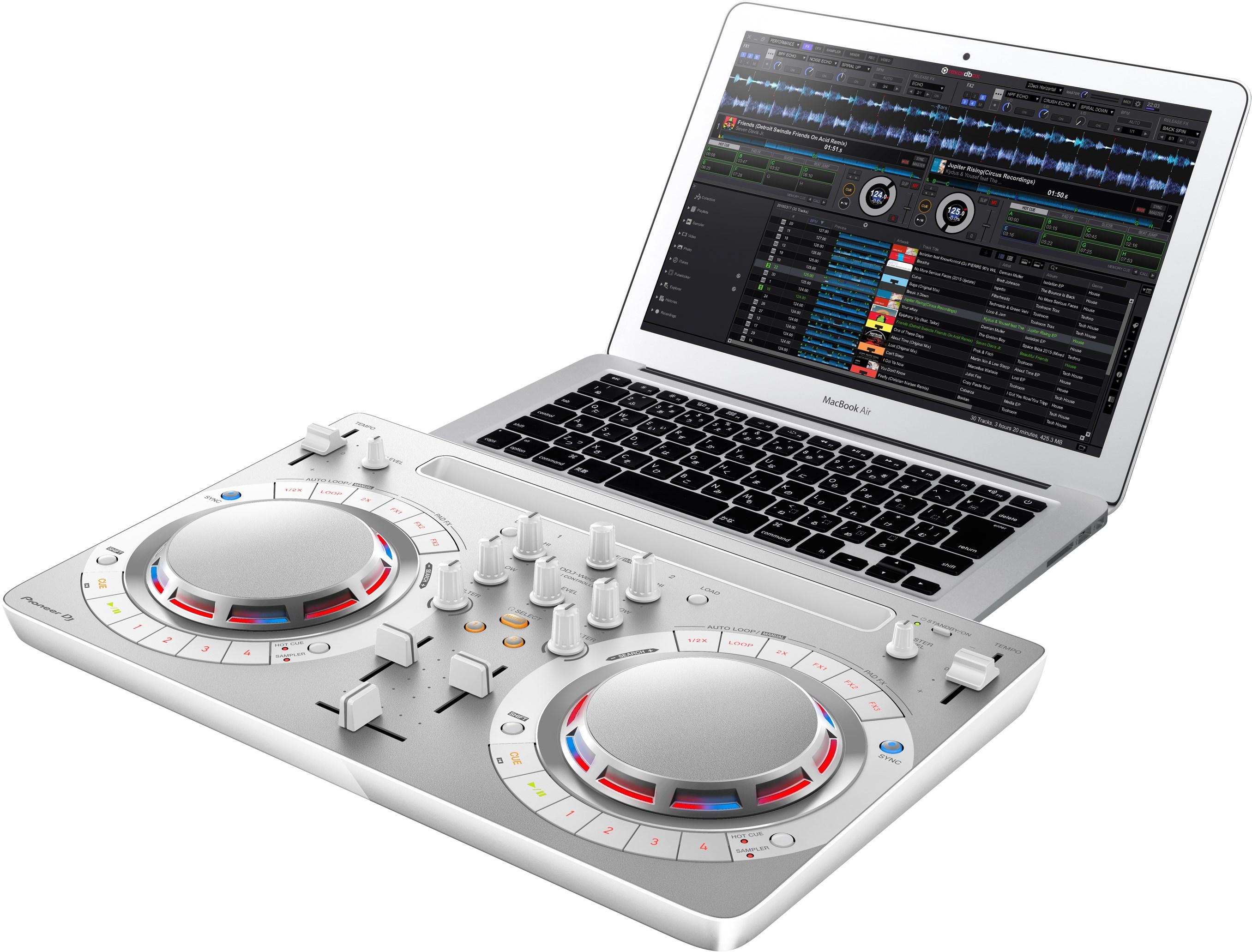 DJ Pioneer DDJ-WEGO4-W White