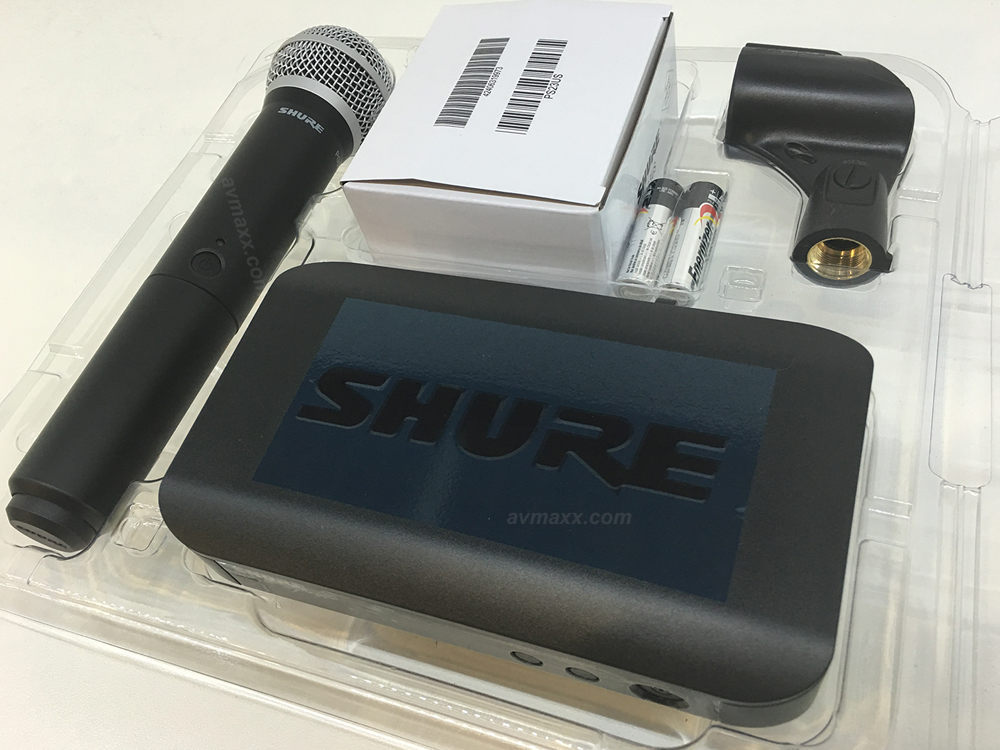 shure blx24 pg58 used wireless microphone mint condition. Black Bedroom Furniture Sets. Home Design Ideas