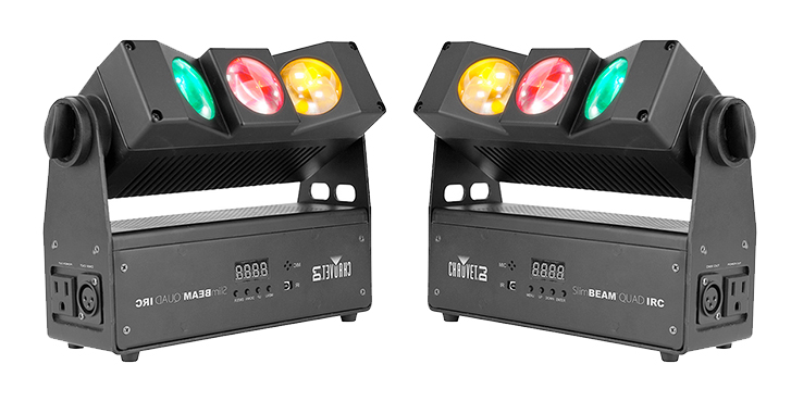 Chauvet DJ SlimBEAM Quad IRC Duo Pack