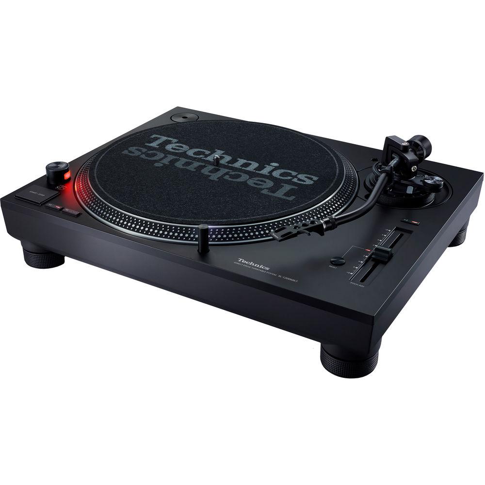 technics sl 1200mk7 direct drive dj turntable dj equipment. Black Bedroom Furniture Sets. Home Design Ideas