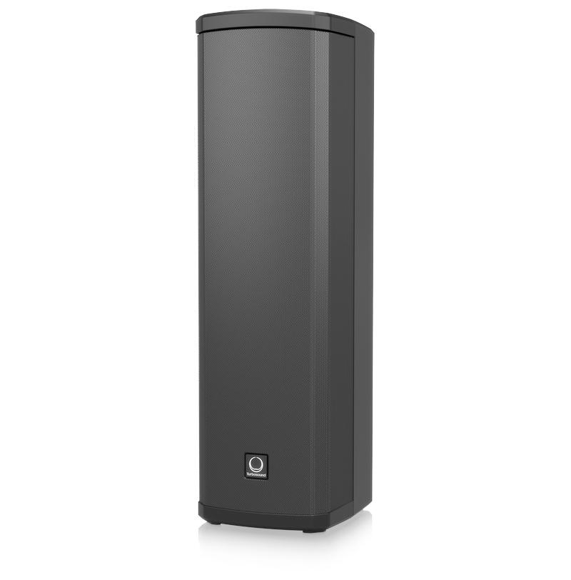 Turbo Sound iP300 600 Watt Powered Column Loudspeaker with Remote Control  via iPhone/iPad and Bluetooth Audio Streaming