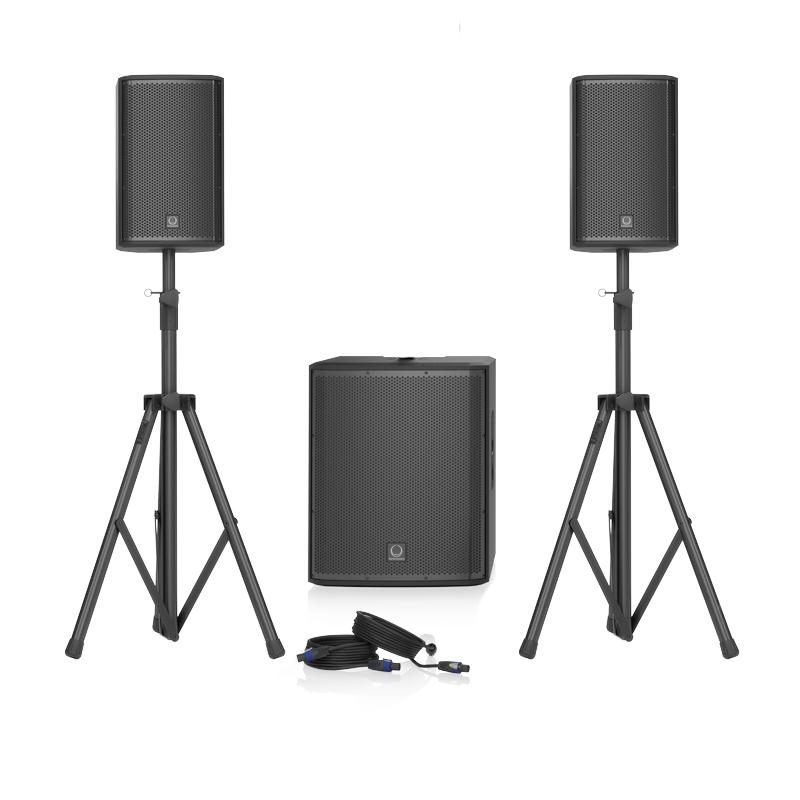 Turbosound iP15 Bundle | Portable PA System | Powered Speakers