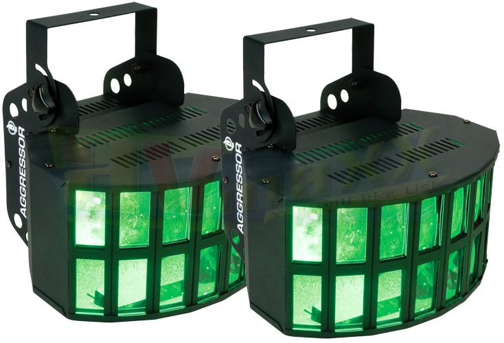 ADJ Aggressor HEX LED Twin Pack