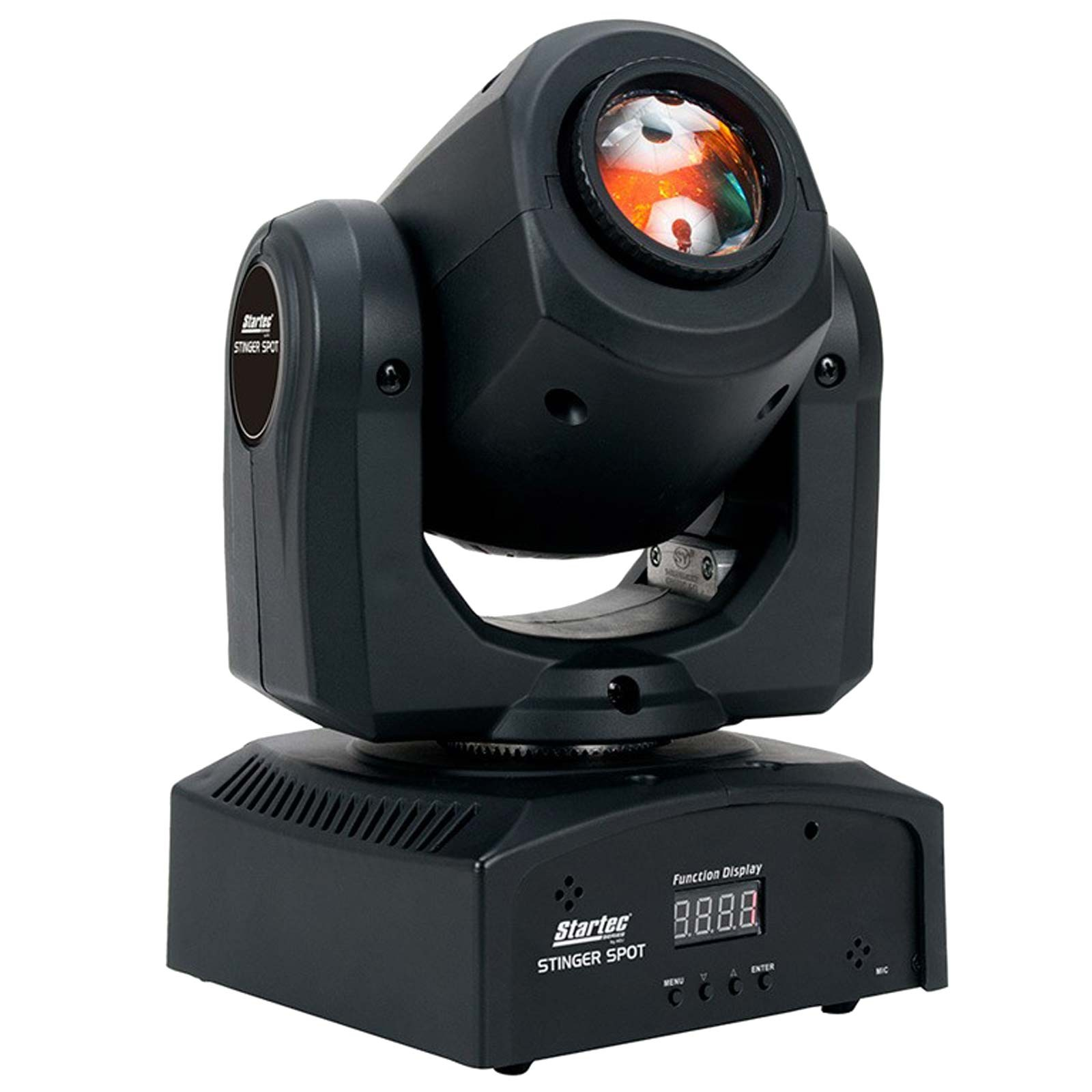 Adj Stinger Spot Miniature Size Moving Head With A Bright