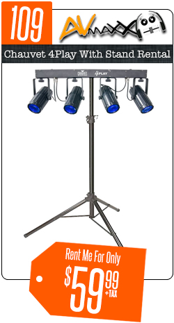 Chauvet 4Play Stand Rental