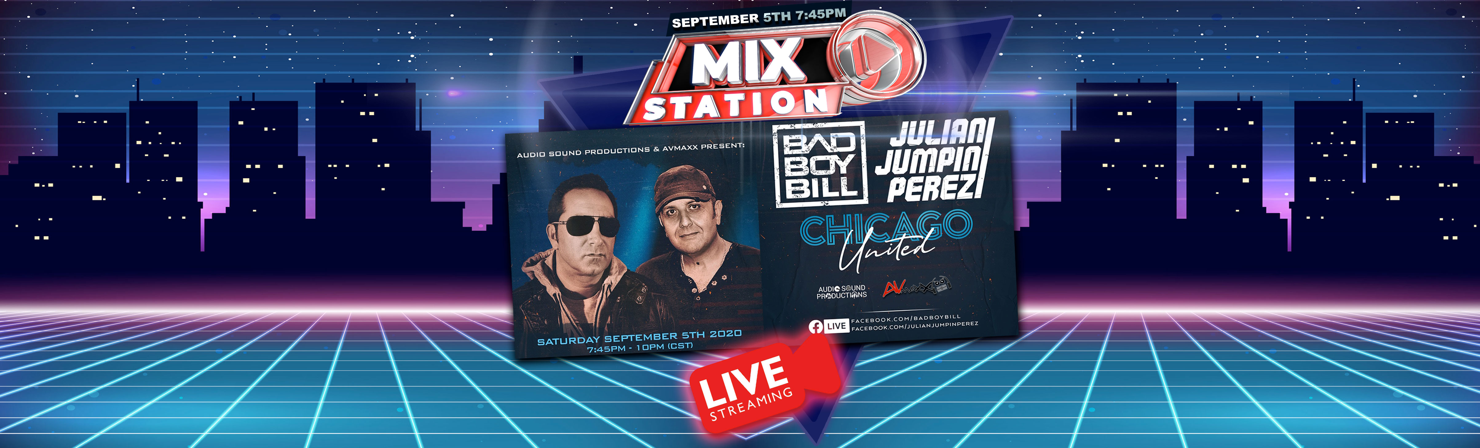 Bad Boy Bill & Julian Jumping Perez Live Stream