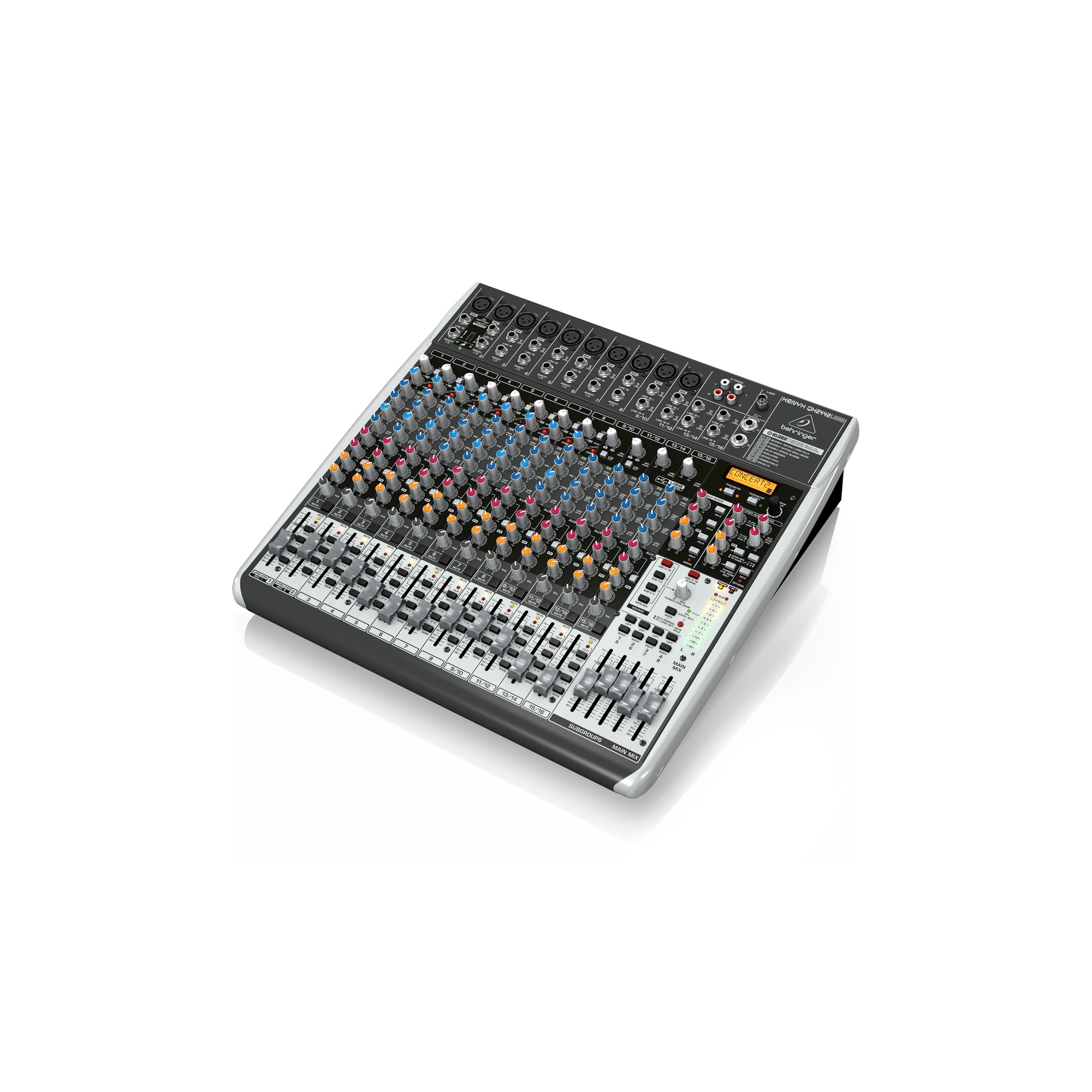 behringer xenyx qx2442usb analog mixer. Black Bedroom Furniture Sets. Home Design Ideas