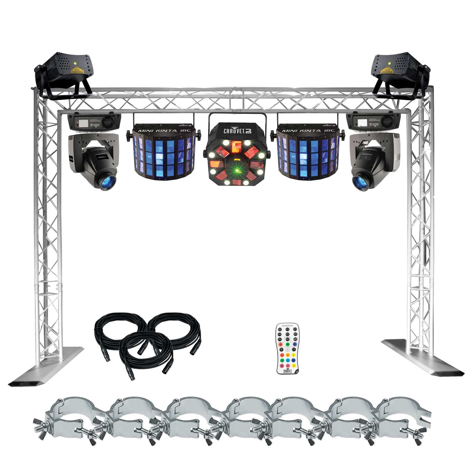 Chauvet dj show maker 250 for Truss package cost
