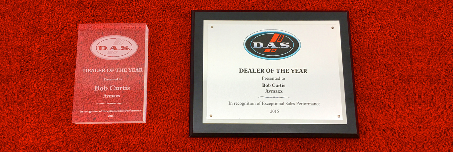 D.A.S Audio Dealer of Year 2020 Award