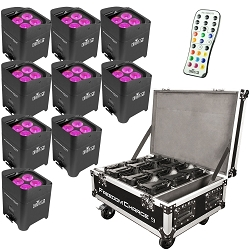 Chauvet DJ Freedom Par Hex-4 9 pack