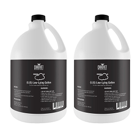 Chauvet DJ Low Lying Fog Fluid Gallon (LLG) Twin Pack