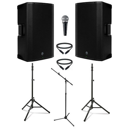 Mackie Thump15A w Microphone Duo Pack