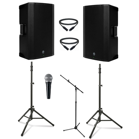 Mackie THUMP 15BST Duo Package w Microphone