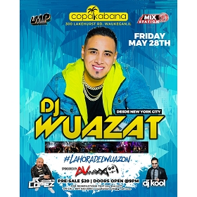 DJ Wuazat at Copakabana Night Club