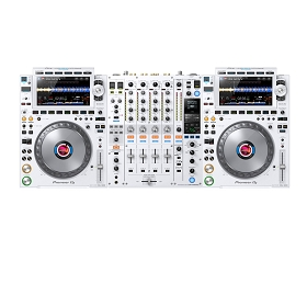 Pioneer DJ CDJ-3000 White Limited Edition (Full Set Up)