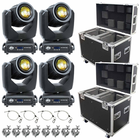 ADJ Vizi Beam 5RX Package With Road Cases