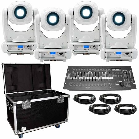 ADJ Focus Spot Three Z White Ultra Bundle